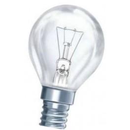 25D1/CL/E14 25W лампа накал. капля прозр. GE