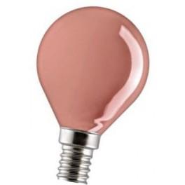 15D1/R/E14 15W лампа накал. красная капля GE