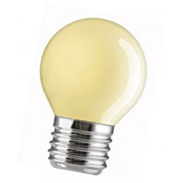 15D1/Y/E27 15W лампа накал. капля желтая GE