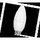 Ecola candle   LED  4,2W  220V E14 2700K свеча (композит) 104x35
