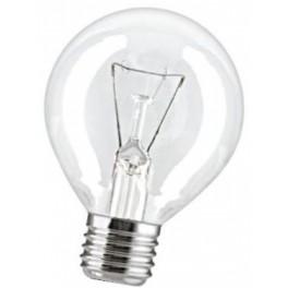 15D1/CL/E27 15W лампа накал. капля прозр. GE