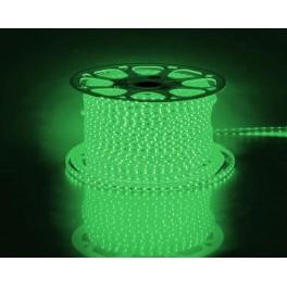 Cветодиодная LED лента LS704, 60SMD(3528)/м 4.4Вт/м 100м IP65 220V зеленый