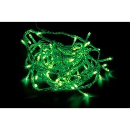 Светодиодная гирлянда CL02 линейная 230V зеленый c питанием от сети