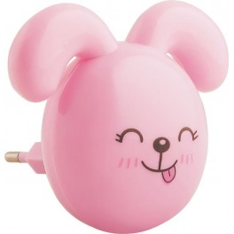 Светильник ночник FN1167 0.5W 220V, розовый