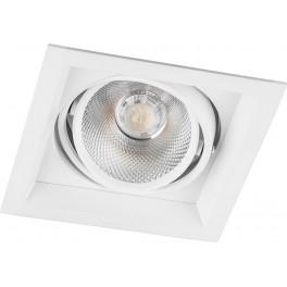 Светодиодный светильник AL201 карданный 1x20W 4000K 35 градусов ,белый
