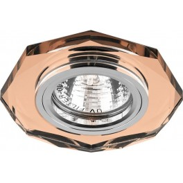 Светильник встраиваемый 8020-2 потолочный MR16 G5.3 коричневый