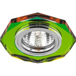 Светильник встраиваемый 8020-2 потолочный MR16 G5.3 мультиколор
