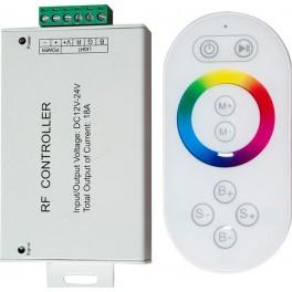 Контроллер для светодиодной ленты с П/У белый, 18А12-24V, LD56, артикул