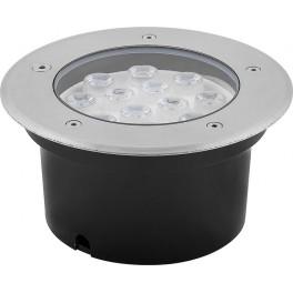 Светодиодный светильник тротуарный (грунтовый) SP4114 12W зеленый 230V IP67