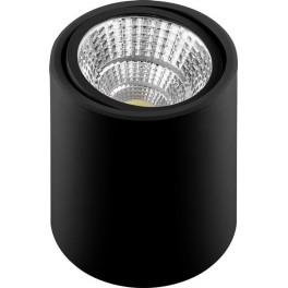 Светодиодный светильник AL516 накладной 10W 4000K черный поворотный