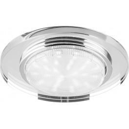 Светильник встраиваемый 4060-2 потолочный ESB53 GX53 прозрачный