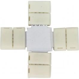 Комплект Х коннекторов  с соединителем для светодиодной ленты (3528/8мм), LD190