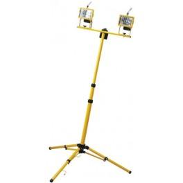 Прожектор на штативе 2*500W 230V R7S с лампой, желтый 900*800*1870mm (на штативе), GL2702