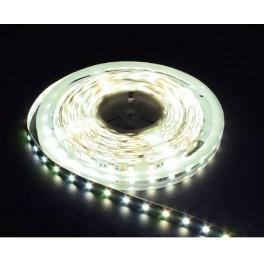 Лента светодиодная, 30SMD(5050)/m 7.2W/m 12V 3m белый на белом c драйвером, LS606