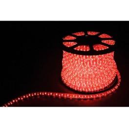 Дюралайт (световая нить) со светодиодами, 3W 50м 230V 72LED/м 11х17мм, белый 3000K, LED-F3W