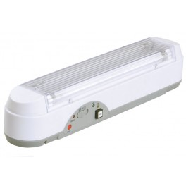Светильник ЛБА 3923, аккумулятор, 3 ч., 2х8Вт, T5/G5