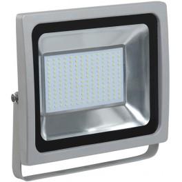 Прожектор СДО 07-100 светодиодный серый IP65