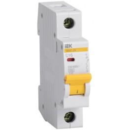 Автоматический выключатель ВА47-29 1Р 16А 4,5кА С