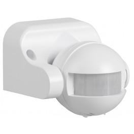 Датчик движения ДД 009 белый, максимального нагрузка 1100Вт 180град. 12м, IP44,