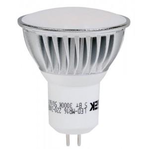 Лампа светодиодная MR16 софит 3 Вт 180 Лм 230 В 3000 К GU5.3-eco