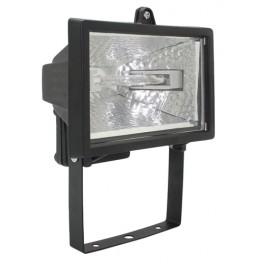 Прожектор ИО150 галогенный черный IP54