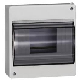 Бокс с прозрачной крышкой КМПн 2/6 для 6-х автоматических выключателей наружной установки