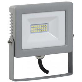 Прожектор СДО 07-20 светодиодный серый IP65