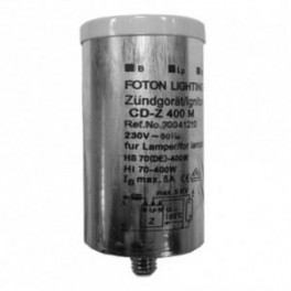 CD-Z 400M 35-400W 230V 50Hz d35x87 FOTON металл+гайка -ИЗУ