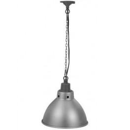 FL -7055 Е27 d310 алюминий на цепи -светильник