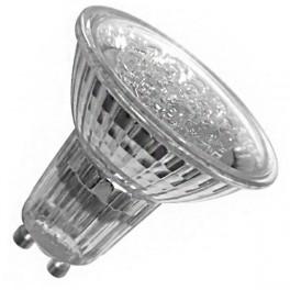Лампа HP51 1W LED21 GU10 COOL WHITE (230V - 240V, 90lm)