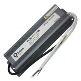 FL-PS TP12150 Pout=150Вт, Uout=12В, Uin=175-240В, IP67, 210x70x45mm, 1300г - метал. герм. транс-тор