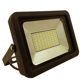 FL-LED Light-PAD 30W Grey 4200К 2550Лм 30Вт AC220-240В 190x136x26мм 690г - Прожектор