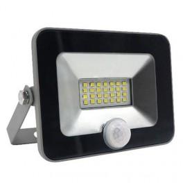 FL-LED Light-PAD SENSOR 20W Grey 4200К 1700Лм 20Вт AC220-240В 140x169x28мм 430г - С датчиком