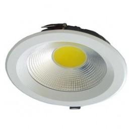 FL-LED DLA 30W 2700K D225xd205x65 30W 2600Lm встраиваемый круглый
