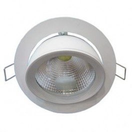 FL-LED DLC 30W 4200K D187xd172x154 30W 2600Lm встраиваемый поворотный круглый