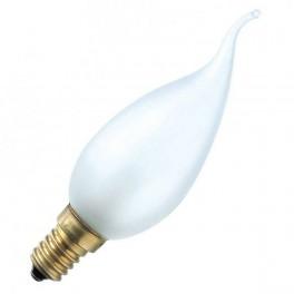 Лампа DECOR С35 FLAME FR 40W E14 (230V) FOTON_LIGHTING (S110) свеча на ветру матовая