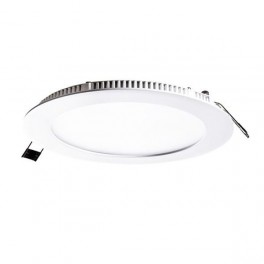 FL-LED PANEL-R24 6400K D=300мм h=20мм d=285мм 24Вт 2160Лм (светильник встр. круглый)