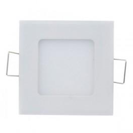 FL-LED PANEL-Q06 3000K L=120мм h=20мм W=110мм 6Вт 540Лм (светильник встр. квадрат)