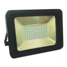 FL-LED Light-PAD 70W Black 6400К 5950Лм 70Вт AC220-240В 275x200x33мм 1640г - Прожектор