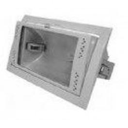 FL-2000M BOX 150W Rx7s Grey встройка 212x122 поворотный прозрач перфорация 231x146