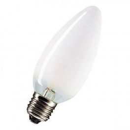 Лампа CLASSIC B FR 60W 230V E27 (свеча матовая d=35 l=100)