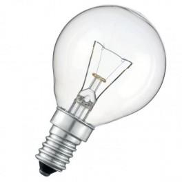 Лампа CLASSIC P CL 60W 230V E14 (шарик прозрачный d=45 l=80)