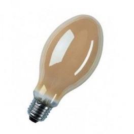 Лампа HQL 125 DE LUXE Е27 6800 lm d=75 l=170 OSRAM тёплый люминофор ДРЛ