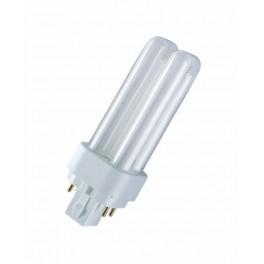 Лампа DULUX D/E 18W/21-840 G24q-2 (холодный белый 4000К) 1200lm