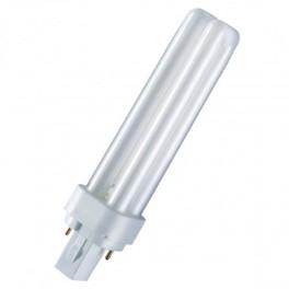 Лампа DULUX D 13W/31-830 G24d-1 (тёплый белый 3000К)