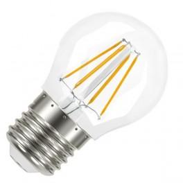 Лампа LED SCL P40 4W/827 230V CL FIL E27 470lm FS1 OSRAM - шарик FILLED OSRAM