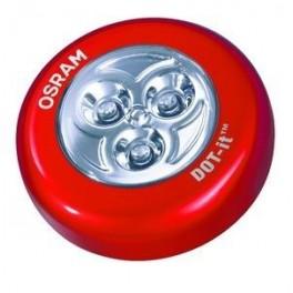 Светильник круглый светодиод красный FOTON LIGHTING Аналог DOT IT OSRAM