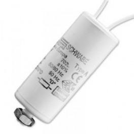 SCHWABE HELLAS 12 мкФ 250V (HQI70,NAV70,100) Конденсатор с защелками