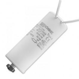 SCHWABE HELLAS 20 мкФ 250V (HQI150,HQL250,NAV150,SOX35,55) Конденсатор