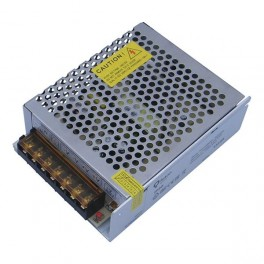 FL-PS SLV12025 Pout= 25Вт, Uout=12В, Uin=175-240В, IP20, 85x58x33мм, 130г - метал. трансформатор